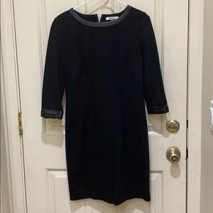 DKNYC fitted dress